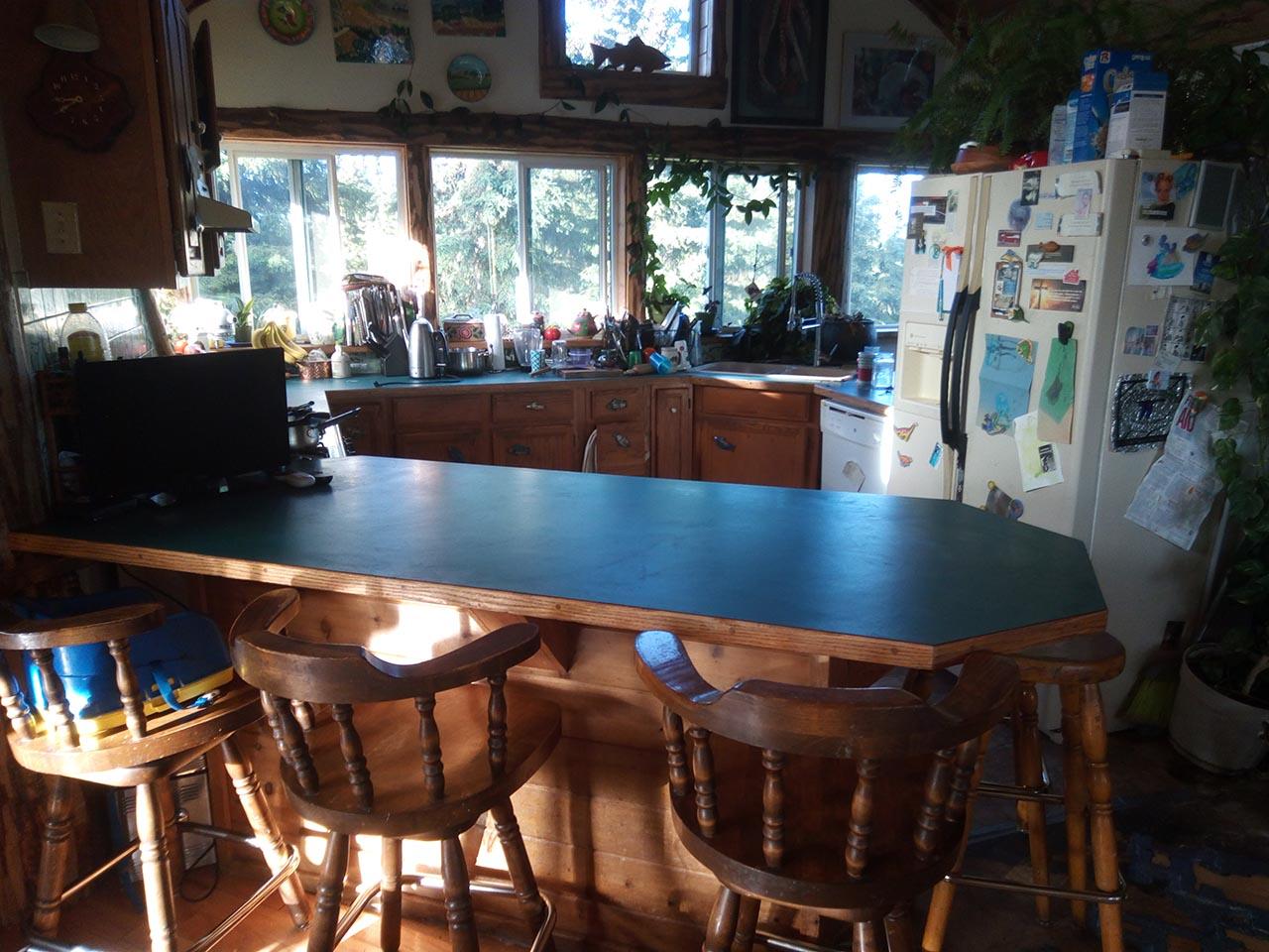 B&B kitchen.