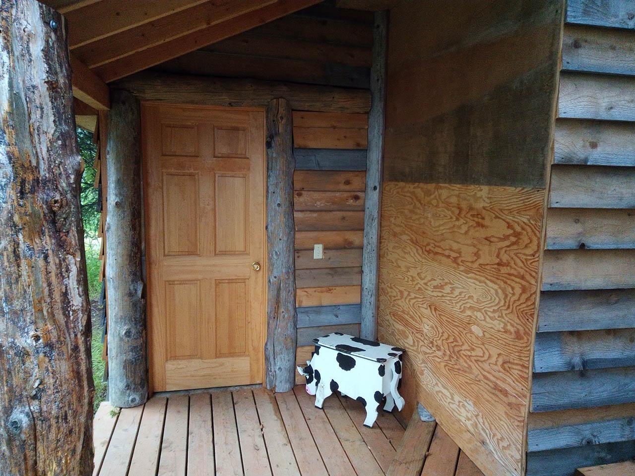 Porch and front door.
