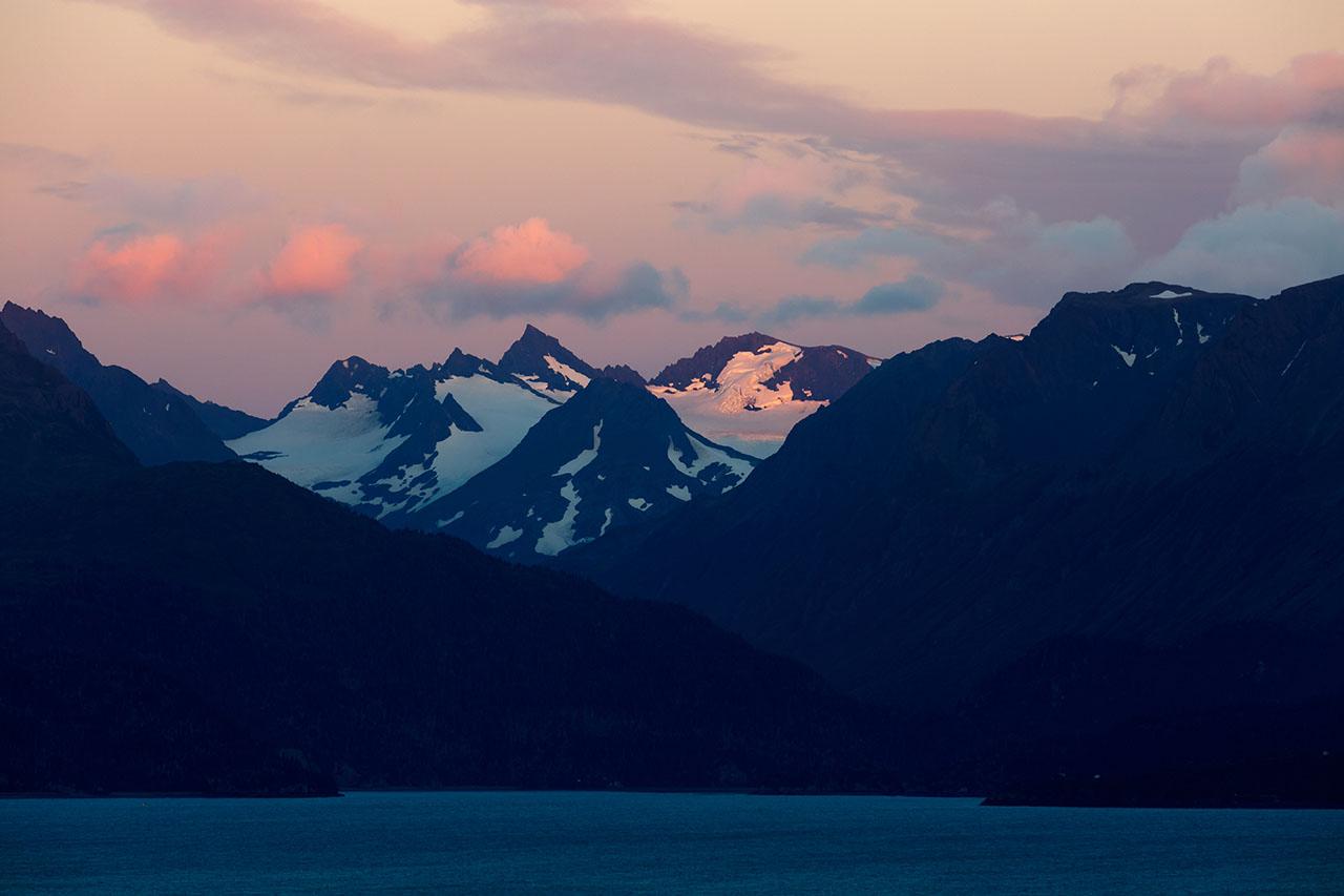 Alaska Mountains.